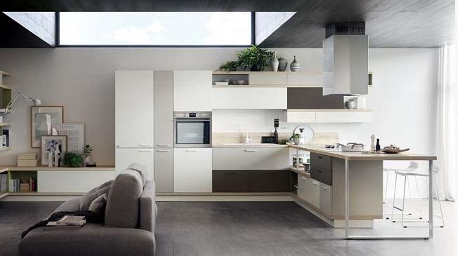 Ý tưởng nhà bếp hiện đại cho không gian mở