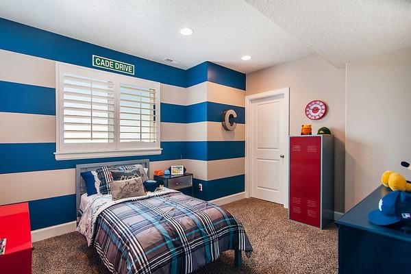Giường ngủ được thiết kế bằng các họ tiết ấn tượng và lạ mắt