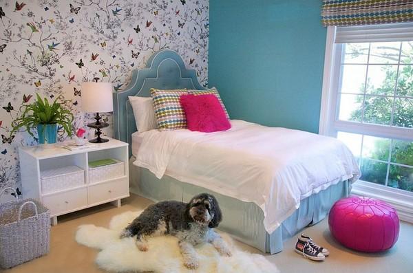 Giấy dán tường là vật liệu không thể thiếu trong thiết kế và trang trí phòng ngủ cho bé
