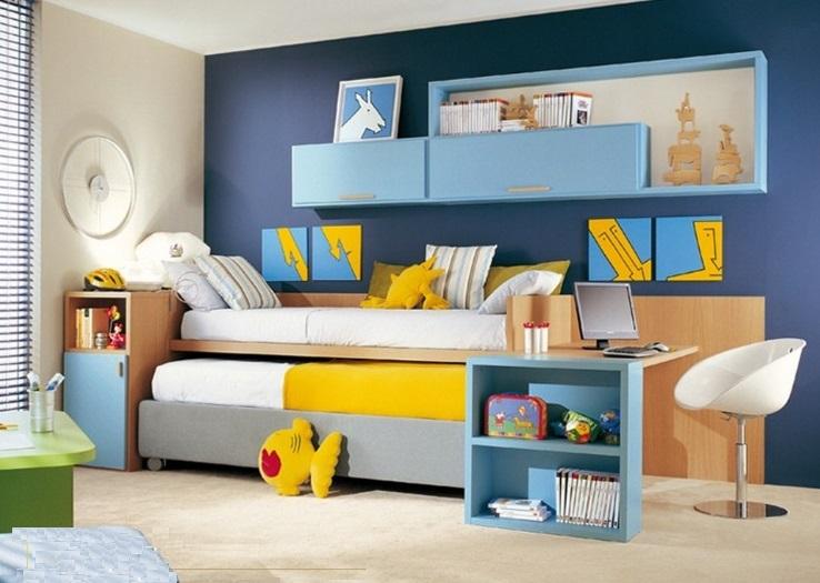 Thiết kế giường tầng đẹp cho bé yêu