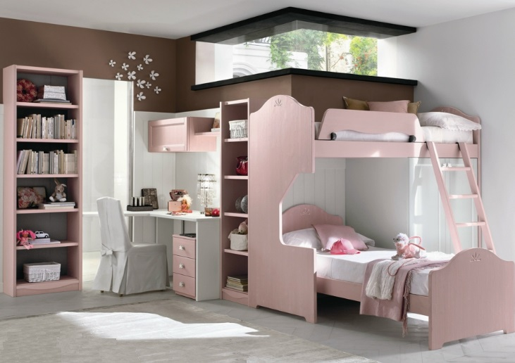 Mẫu giường tầng đẹp , hiện đại cho các bé yêu