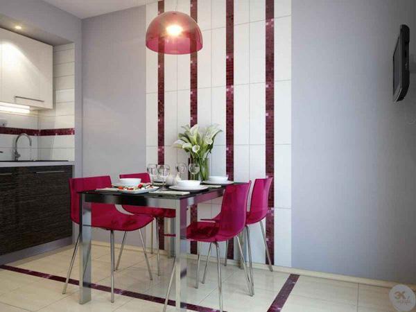 Bàn ghế ăn đặt sát tường là một giải pháp cực kỳ hoàn hảo