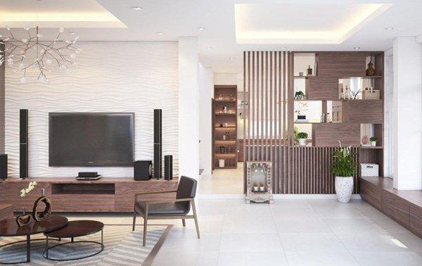 Ý nghĩa của màu sắc trong thiết kế nội thất vách ngăn phòng khách ngày nay đang được ưu chuộng nhất hiện nay