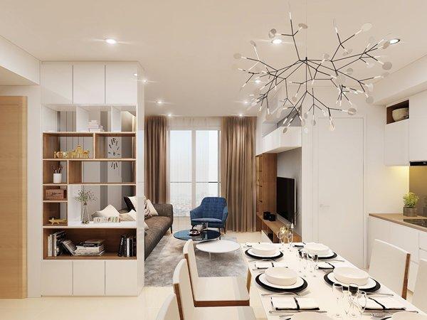 Trang trí nhà đẹp hoàn hảo với mẫu vách ngăn phòng khách