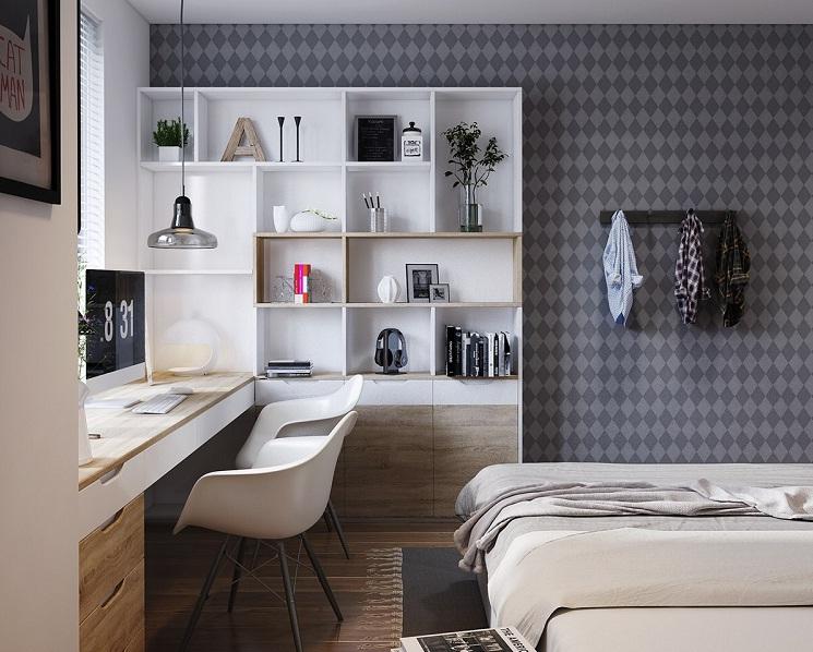 xu hướng thiết kế nội thất phòng ngủ năm 2017