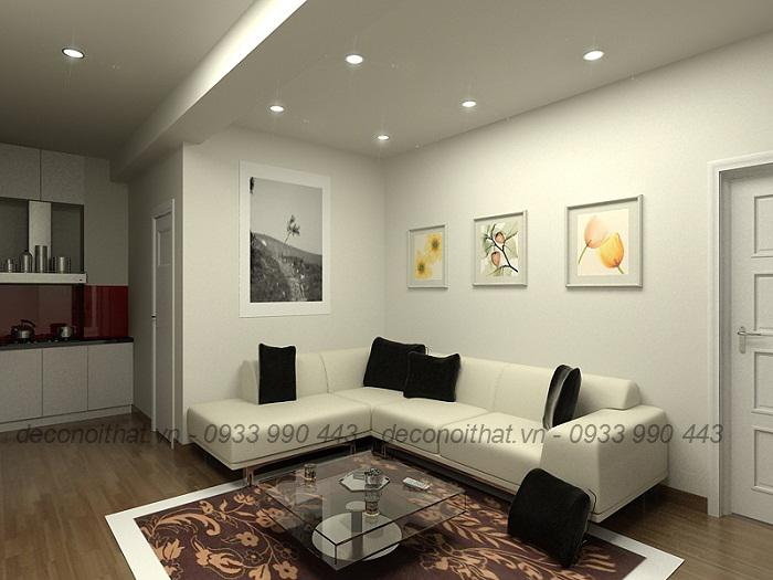 Tinh tế và thanh lịch với mẫu ghế sofa góc 159TP
