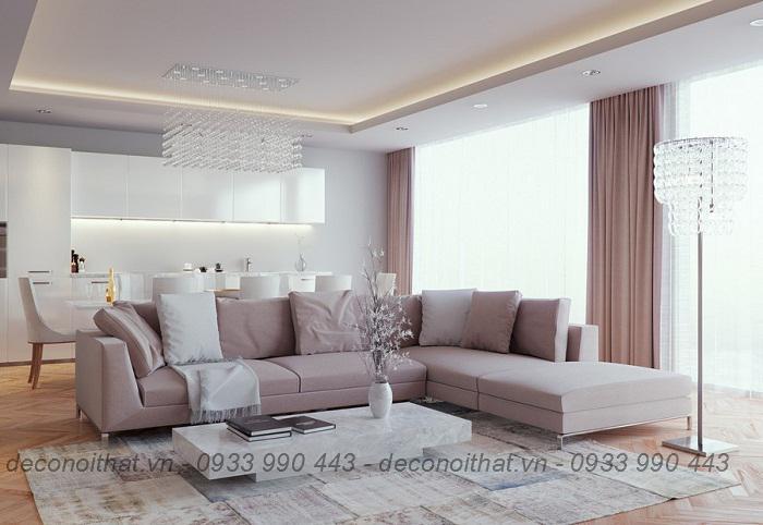 ghế sofa 163 bọc vải nỉ thoáng, nệm mút D40