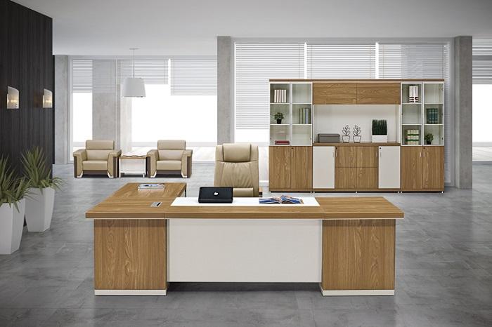 Thiết kế bàn làm việc giám đốc sang trọng theo phong cách riêng