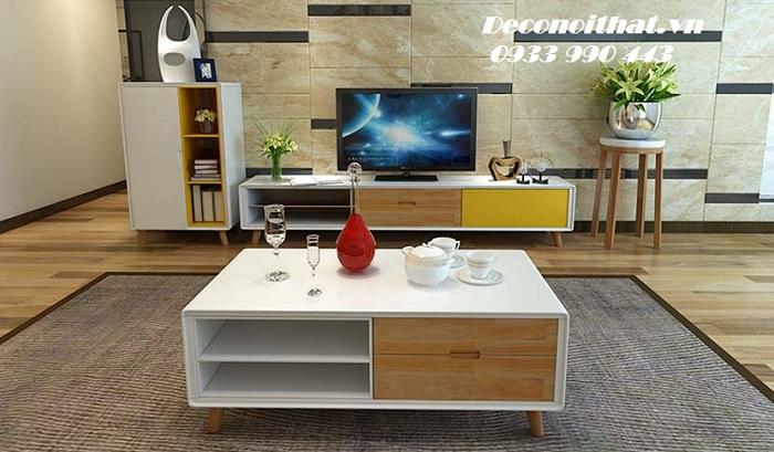 Bàn sofa 156 phòng khách hiện đại
