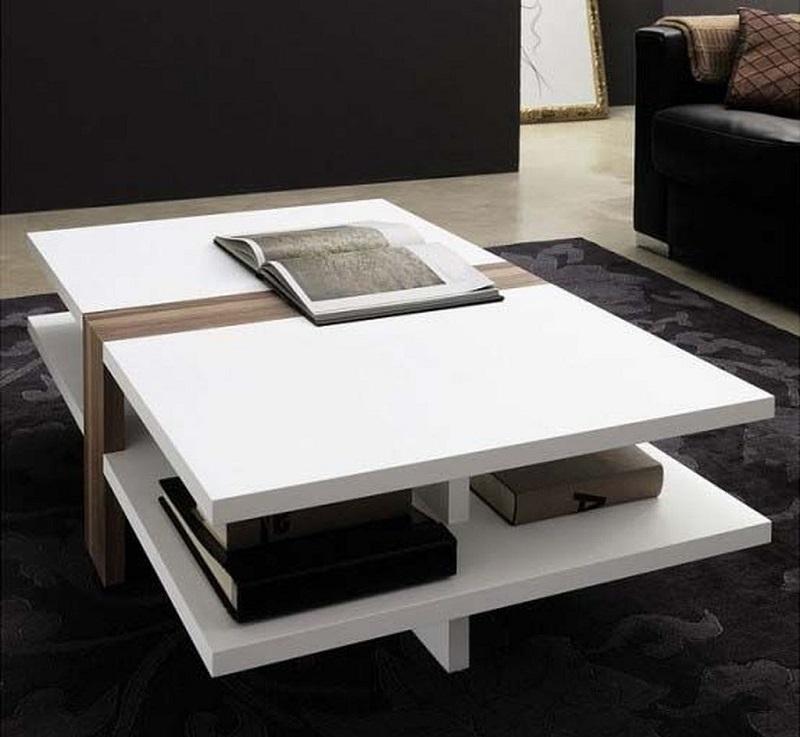 Làm điệu phòng khách với bàn sofa cá tính