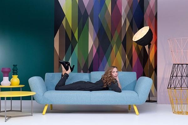 Sofa màu xanh mới nhất nảm 2016