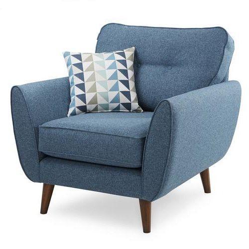 ghe sofa đơn được làm bằng vải bố