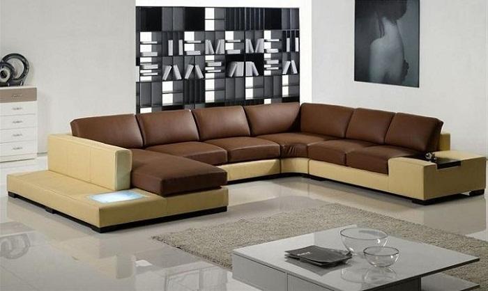 Bí quyết lựa chọn ghế sofa góc chữ U phù hợp cho phòng khách rộng