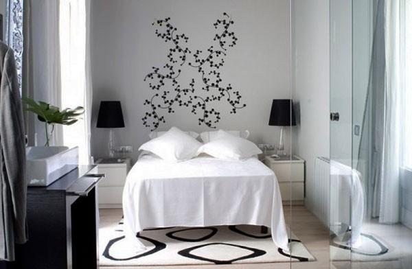 Trang trí phòng ngủ nhỏ bằng kính để ăn gian diện tích phòng