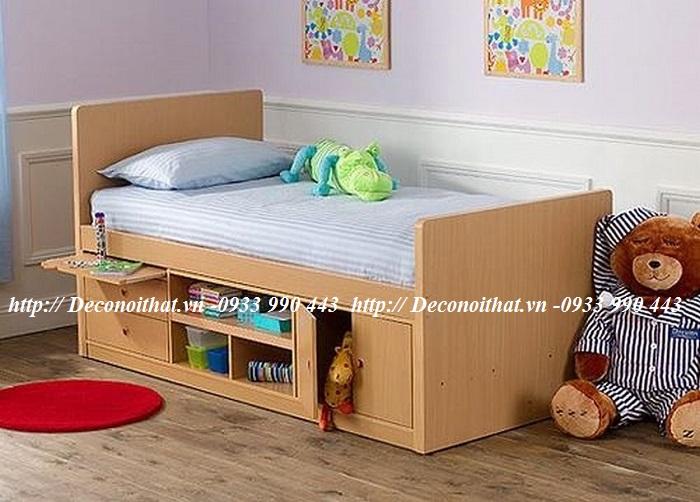 Thiết kế giường ngủ đẹp thông minh cho các bé yêu