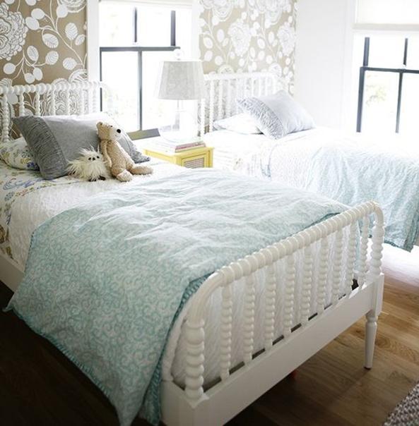 Chiếc giường đậm chất phong cách hoàng gia