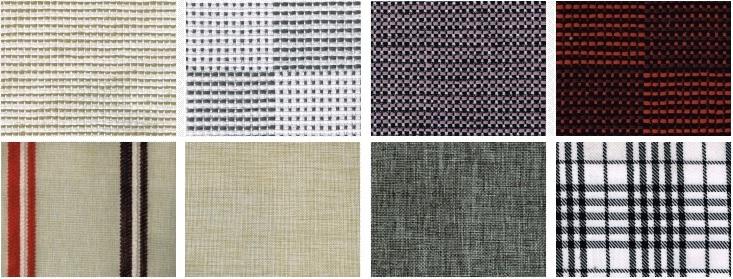 Một số mẫu vải bố sợi mát