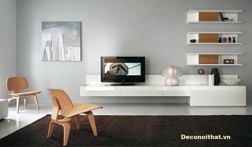 Kệ tivi phòng khách đẹp Mẫu 9