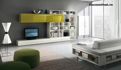 Kệ tivi phòng khách đẹp Mẫu 12