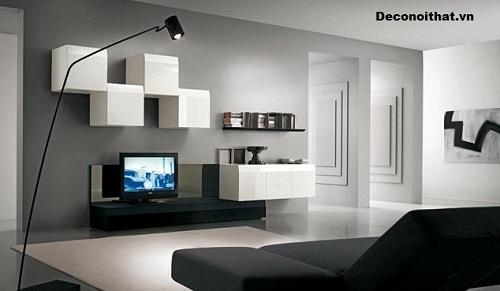 Kệ tivi phòng khách đẹp Mẫu 13