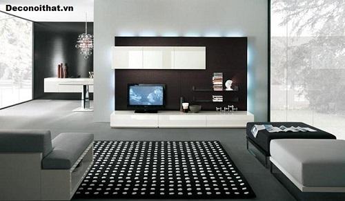 Kệ tivi phòng khách đẹp Mẫu 4
