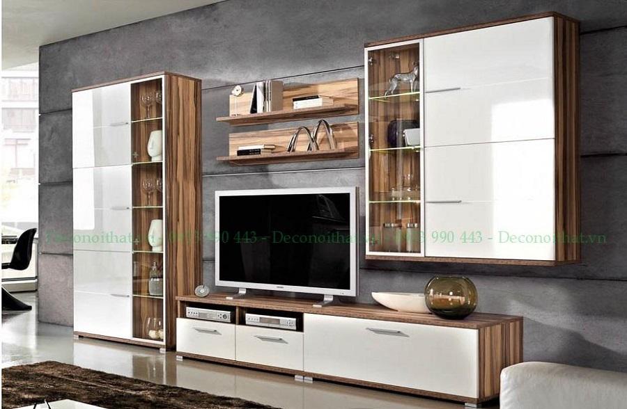 Kệ tivi là tâm điểm của nội thất phòng khách hiện đại