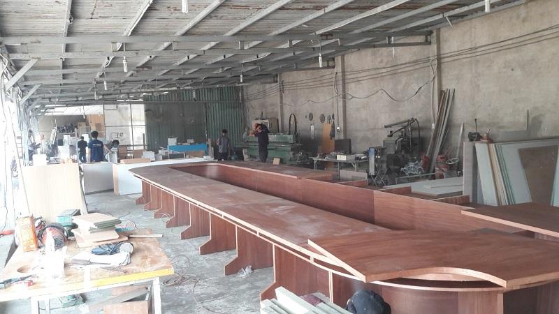 xưởng mộc 1000m2 nhận gia công nội thất uy tín , chất lượng