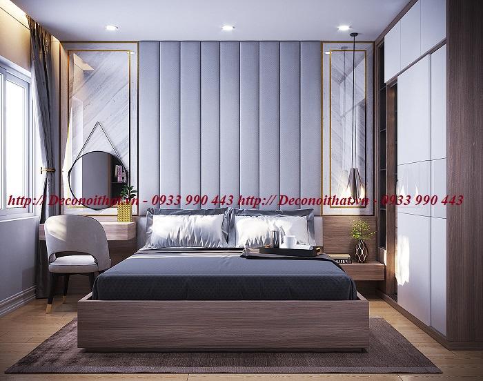 Thi công nội thất phòng ngủ đẹp cho các căn hộ, chung cư