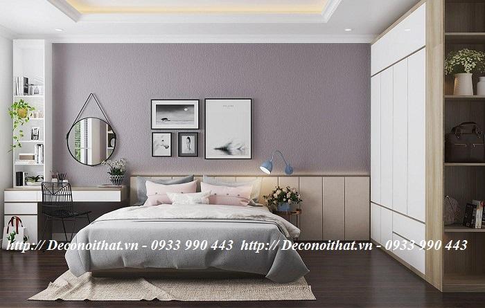 Ý nghĩa của màu sắc trong thiết kế nội thất phòng ngủ ngày nay đang được ưu chuộng nhất