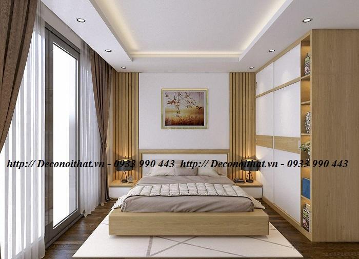 Thiết kế nội thất phòng ngủ đẹp một cách ngẫu hứng và cuốn hút