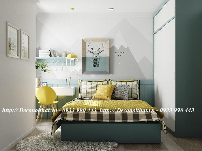 Thiết kế nội thất phòng ngủ cho các bé trai năng động và sáng tạo