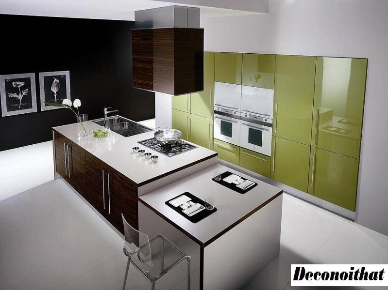 Mẫu thiết kế tủ bếp Acrylic cao cấp năm 2020 lên ngôi