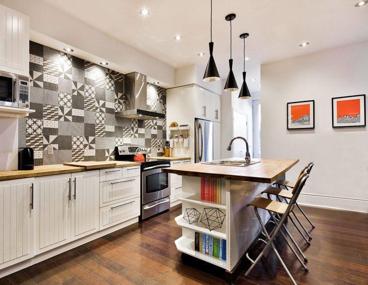 Thiết kế tủ bếp dạng bàn đảo đang được yêu thích hiện nay