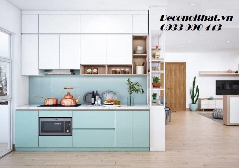 Bảng giá sản xuất tủ bếp Acrylic An cường