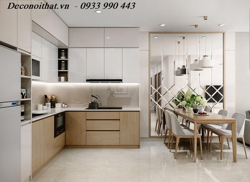 Những mẫu nhà bếp được thiết kế chữ L hiện đại và tiện nghi