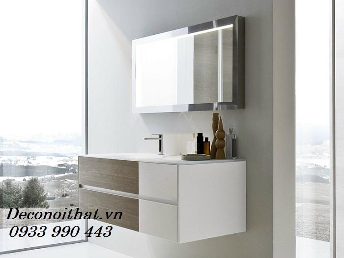 Tủ lavabo 120 dành cho nhà tắm cực đẹp trong các căn hộ cao cấp