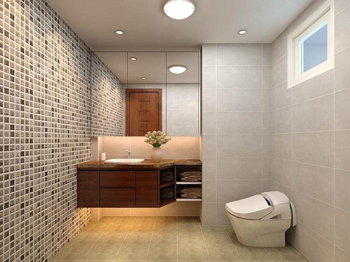 Thiết kế nhà tắm đẹp đón năm mới