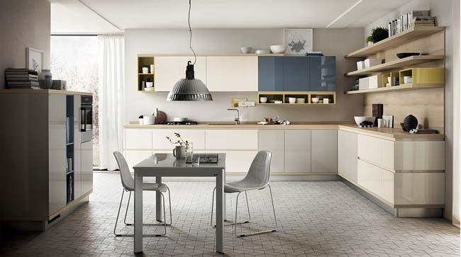Tủ bếp hiện đại đẹp kiêu sa