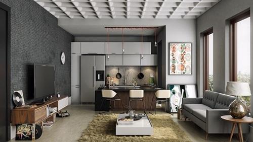 Thiết kế tủ kệ bếp đẹp tại Deconoithat