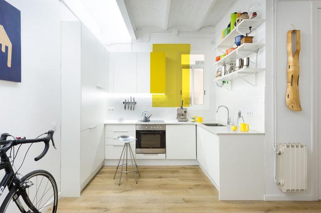 Một căn bếp nhỏ đáng ngưỡng mộ