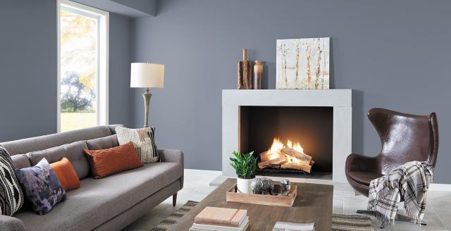 Cách phối màu trong thiết kế nội thất phòng khách