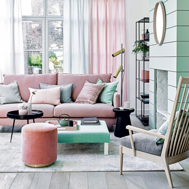 Cách phối màu trong thiết kế nội thất phòng khách đẹp