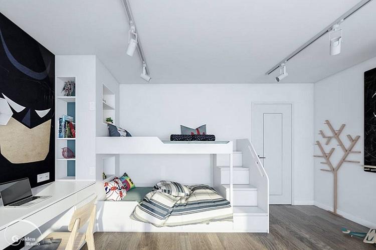 Giường tầng giá rẻ đẹp và độc đáo cho các bé yêu