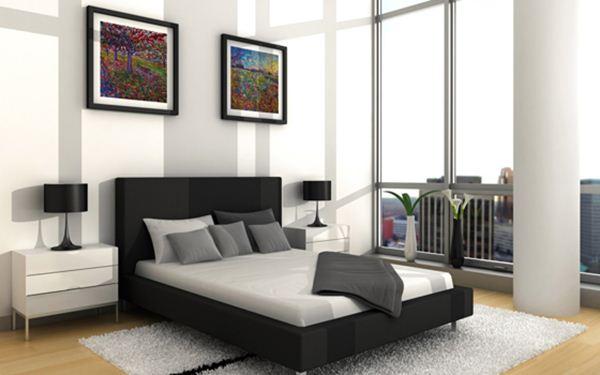Thiết kế phòng ngủ theo dạng mở nhờ ánh sáng tự nhiên