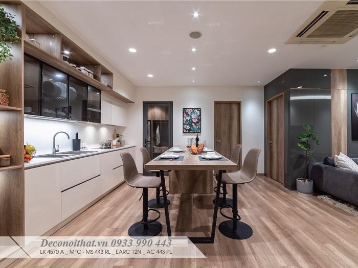 Bộ sưu tập những mẫu Tủ bếp gỗ đẹp lý tưởng cho mọi không gian