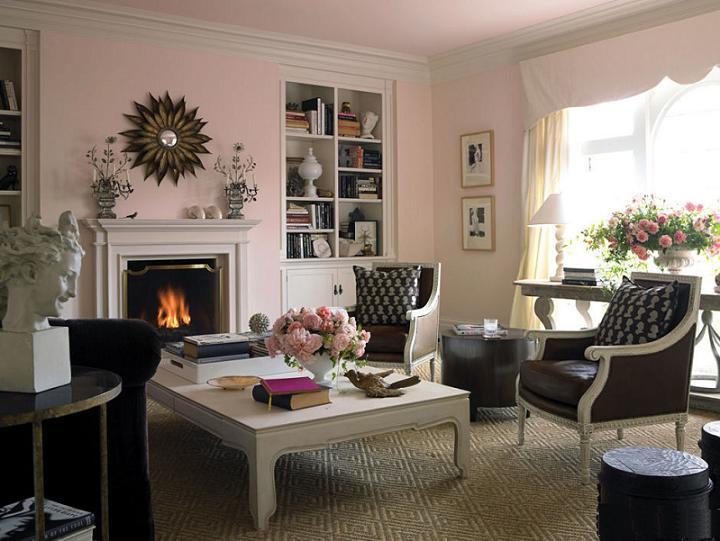 Kết hợp hồng và nâu là một ý tưởng không tồi trong thiết kế nội thất nhà bạn