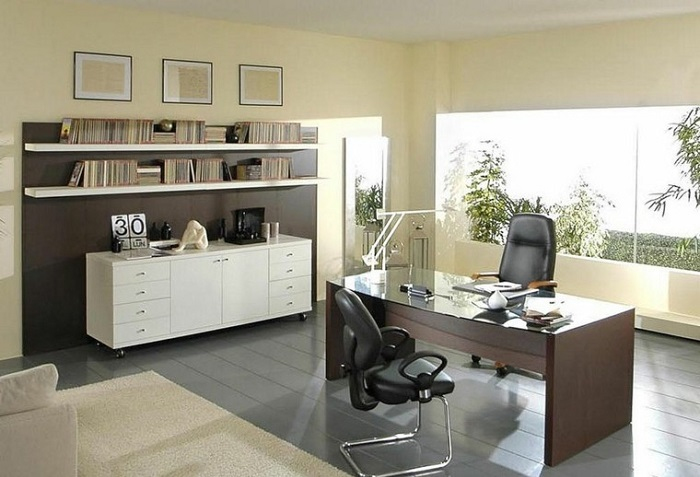 Khi thiết kế nội thất phòng giám đốc phải đảm báo yếu tố thẩm mỹ từ chất liệu cho tới màu sắc cũng phải chú trọng trong thiết kế và sản xuất