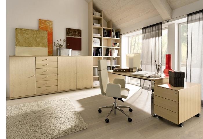 Phòng làm việc không đơn giản chỉ là chỗ ngồi để làm việc mà còn phải đáp ứng được mọi nhu cầu sử dụng