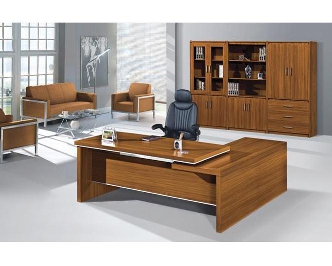 Sự kết hợp màu sắc tinh tế của thiết kế nội thất phòng giám đốc