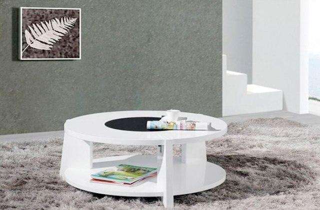 Bàn sofa bàn trà 005 gỗ công nghiệp sơn PU